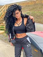 Женский спортивный костюм из матовой плащевки