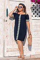 Сукня вільного крою в кольорах 50449, фото 1