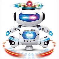 Танцующий светящийся робот WOW Dancing Robot Детская игрушка музыкальный робот
