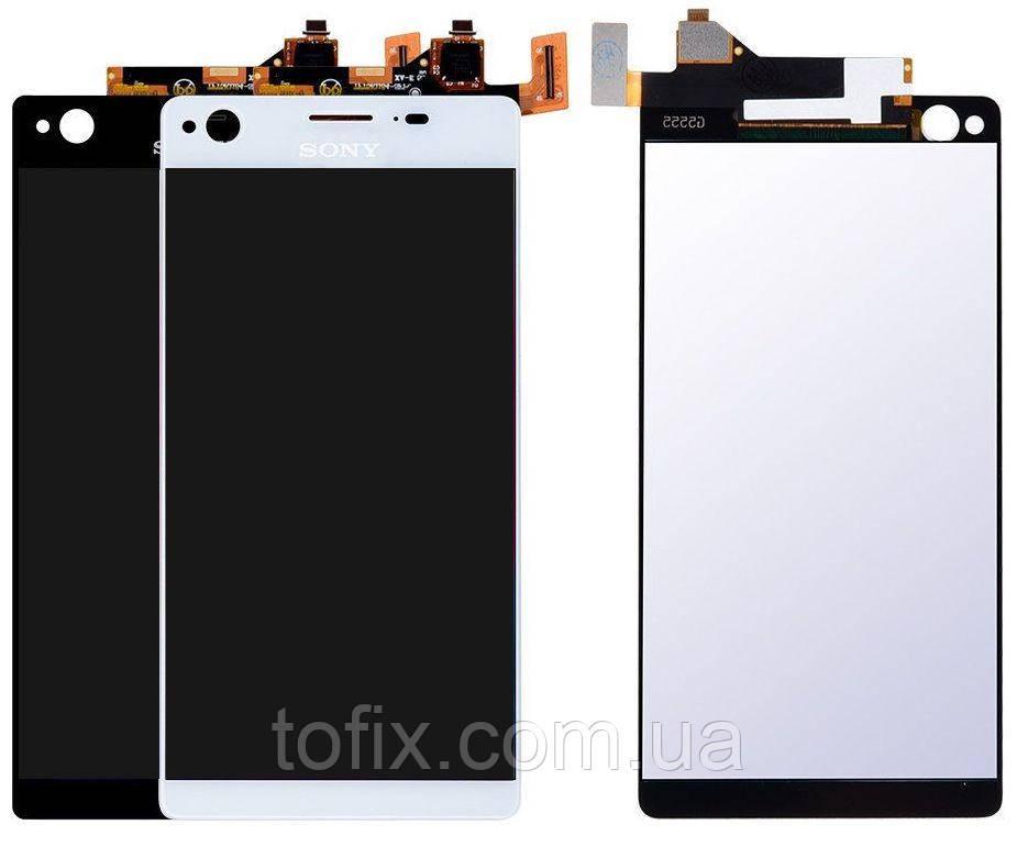 Дисплей для Sony Xperia C4 Dual E5333, E5343, E5363, модуль в зборі (екран і сенсор), оригінал