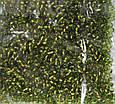 Бісер Preciosa 10/0 колір 59430 оливковий 10г, фото 2