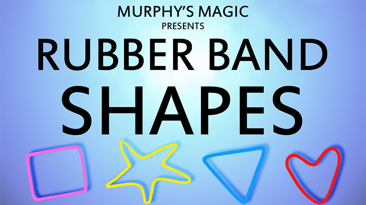 Реквізит для фокусів | Rubber Band Shapes (triangle)