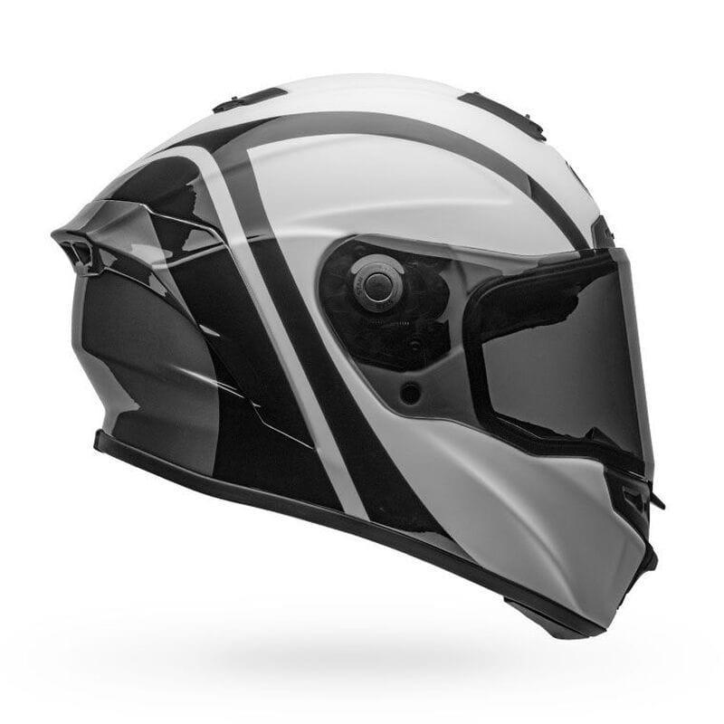 Мотошлем Bell STAR DLX MIPS Tantrum Black/White/Titanium