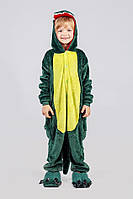 Кигуруми зеленый динозавр (детский) kmy0040
