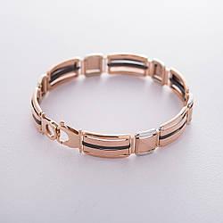 Чоловічий золотий браслет гб04074