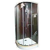 Душевая кабина Veronis KN-3-80 80х80х195 прозрачное стекло