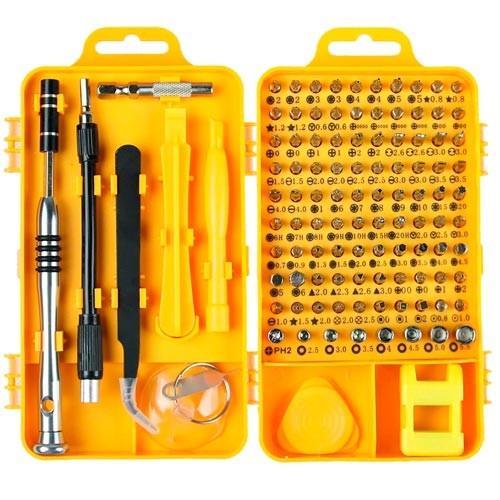 Набор инструментов 110в1 для ремонта электроники, отвертка с 98 битами 2005-02939