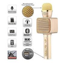 Беспроводной Bluetooth микрофон YS-68 Розовое золото, фото 3