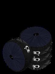 Комплект чохлів для коліс Coverbag Premium S синій 4шт.