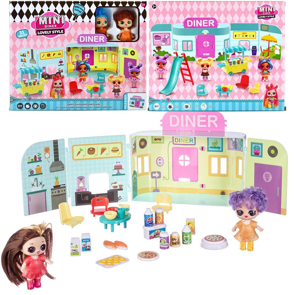 """Игровой набор \""""Куколки LOL OMG: Mini Diner\"""" с 2 куклами"""