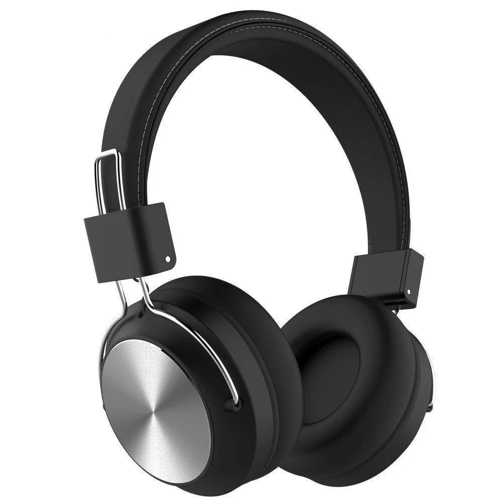 Бездротові Bluetoth Навушники Mdr ST-1001 Sodo Чорний