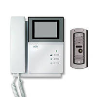 Черно-белый видеодомофон AD-228PF2/AT-305 brown