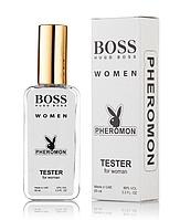 Жіночий міні-парфуми Huguee Booss Booss Women (Хьюгеt Бос Бос Вумен), з феромоном 65 мл