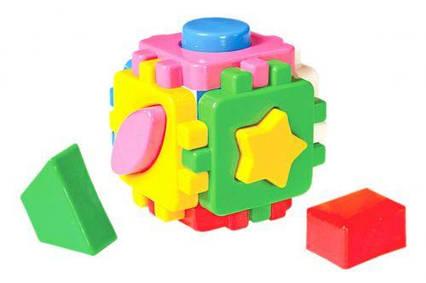 "Игрушка куб ""Умный малыш Мини ТехноК"" (сортер) 1882"