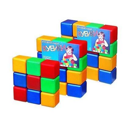 """Кубики.кольорові """"16 шт """" 05063"""