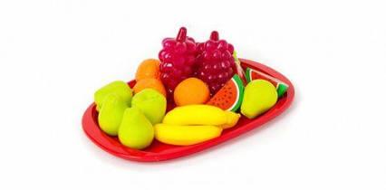 Поднос с фруктами (15 фруктов) 379 в.2