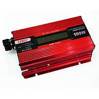 Преобразователь напряжения Ukc kc-500D 500W с Lcd дисплеем, фото 1