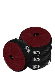 Комплект чохлів для коліс Coverbag Premium M бордо 4шт.