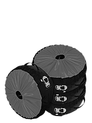 Комплект чохлів для коліс Coverbag Premium S сірий 4шт.