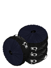 Комплект чохлів для коліс Coverbag Premium M синій 4шт.
