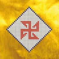 Схема на ткани для вышивания бисером Славянский оберег. Солонь  КМР 6103