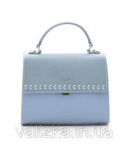 Жіноча сумка David Jones блакитна крос-боді