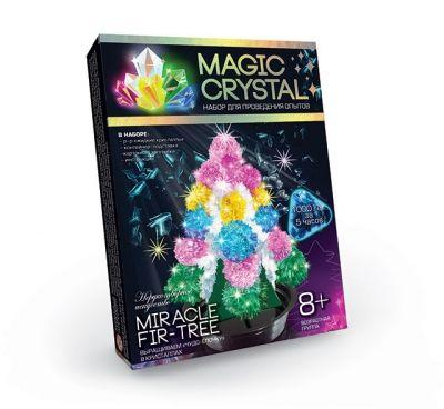 """Набор для проведения опытов """"MAGIC CRYSTAL"""" Чудо-ёлочка ОМС-01-01"""