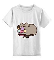 Футболка GeekLand Pusheen Cat Кот Пушин Мороженко  PC 02.02