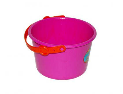 Ведерко пластиковое (розовое) KW-01-137