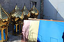 Лист с покрытием нитрид титана под золото 1,5х1000х2000 мм  AISI 430, фото 3