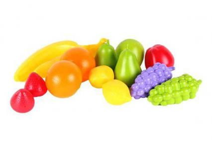 Набор фруктов (14 шт) 5521