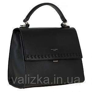Жіноча сумка David Jones чорна росс-боді