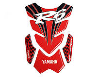 Наклейка на бак NB-4 Yamaha R6 Red