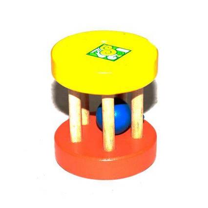 Шумелка деревянная, цветная Д525у