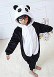 Детский кигуруми панда черно белый krd0046, фото 3