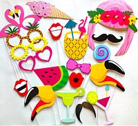 Фотобутафория Take Smile TS-01 Фламинго, Маски на свадьбу, День Рождения, Девичник