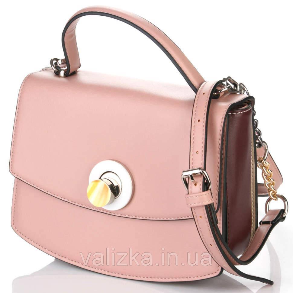 Жіночий клатч David Jones, сумка рожева