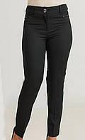 Модные женские брюки черного цвета