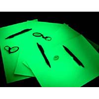 Фотобумага люминесцентная А3 зеленое свечение