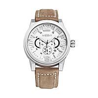 Часы Megir Silver White Brown MG3010 (ML3010GBN-7)