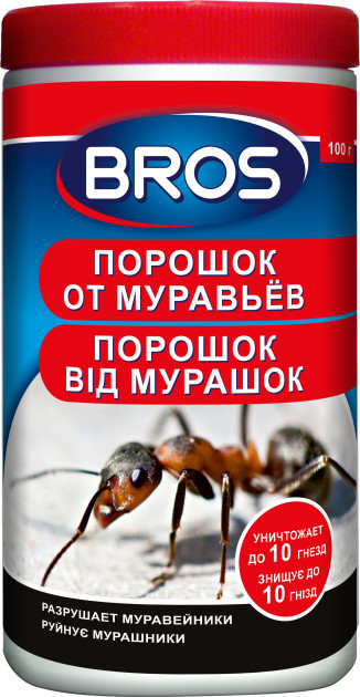 Bros порошок от муравьев 100гр