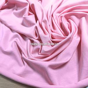 Тканина кулір стрейч рожевий