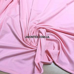 Стрейч кулир пенье розовый, ширина 180см