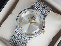 Мужские (Женские) кварцевые наручные часы Tissot на металлическом ремешке, фото 1