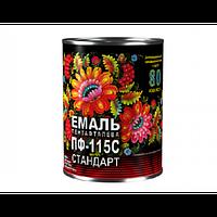 Эмаль алкидная ПФ-115С Стандарт Спектр салатная