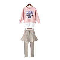 Костюм для девочки Аризона, розовый Berni