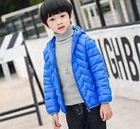 Куртка демисезонная детская Зигзаг, голубой Berni