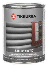 Тиккурила Валтти Арктик (Tikkurila Valti Arctic), перламутровая фасадная лазурь, 2.7л