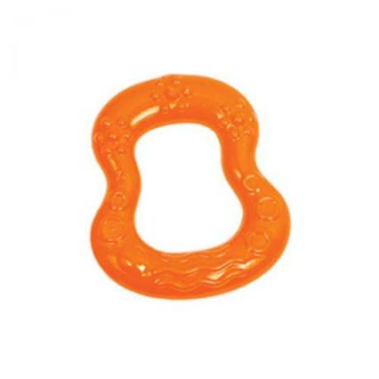 """Прорезыватель для зубов, с водой """"Фигура"""" (оранжевый) LI 304"""