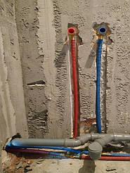 Разодка воды в квартире Ирпень. 7